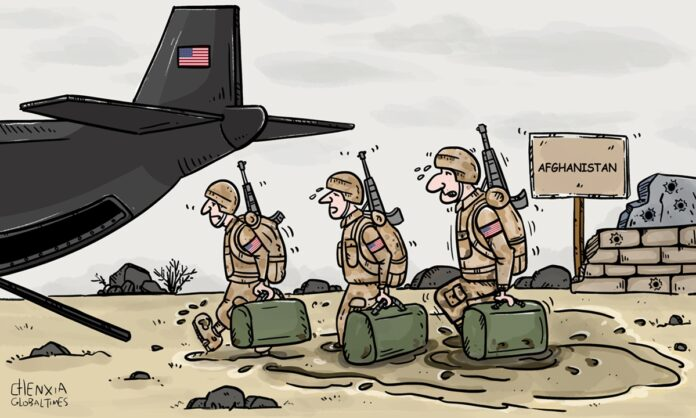 Afghanistan Withdrawal By The Pentagon Portrayed In Global Times