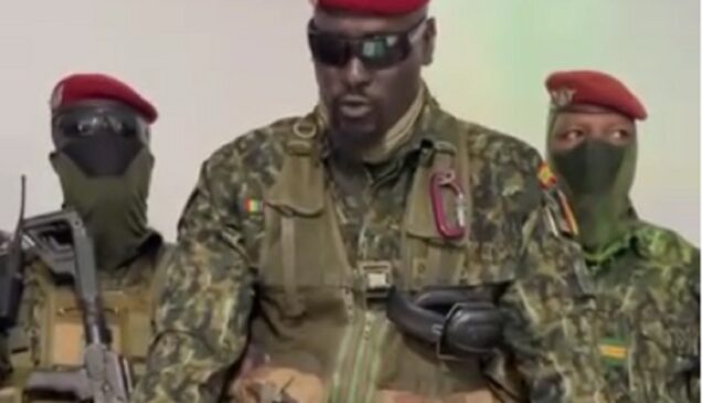 Colonel Mmady Doumbouya Guinean Coup Leader