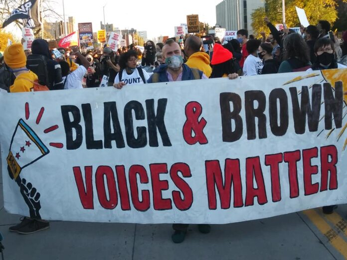 Detroit Demonstration Demands Black And Brown Voices Be Heard On Nov Photo By Abayomi Azikiwe
