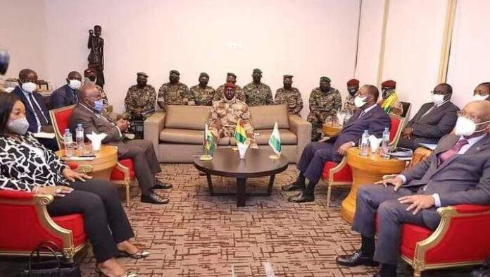Ecowas Delegation To Guinea On Sept