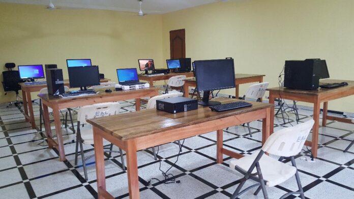 ICT laboratory for Akyem Methodist Basic School