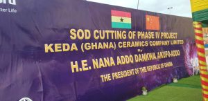 President Akufo-Addo cuts sod to commence phase four of KEDA project