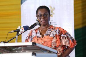 Minister for Communications and Digitalisation, Mrs Owusu-Ekuful