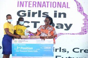 Rebecca Yemaal from Juaboso came third
