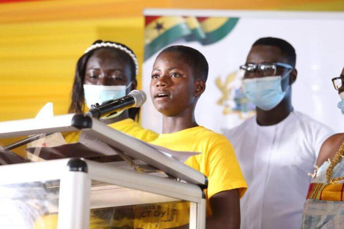 Senior Manager for MTN Ghana, Network Performance, Ms Louisa Ama Sosu