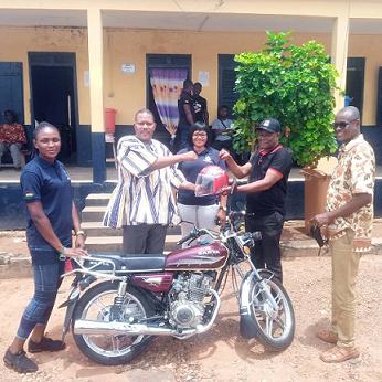 Motorbike Donation