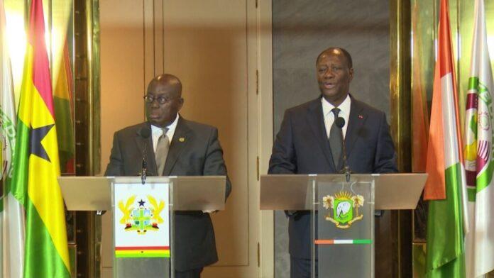 Nana Akufo Addo And Alassane Ouattara