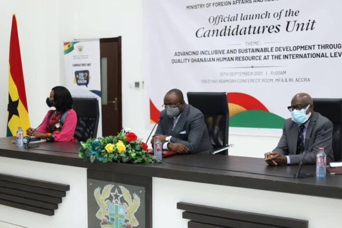 Politics Candidatures Unit