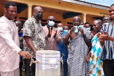 Afriwave Telecom revamps Ekye-Amanfrom abandoned water facility