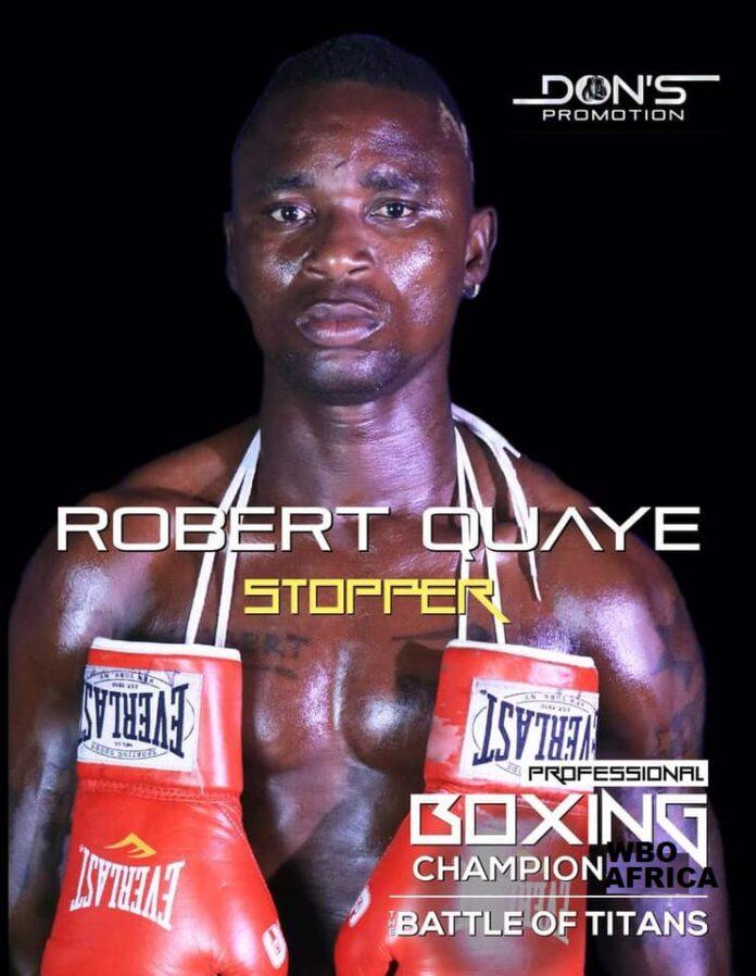 Robert Quaye aka 'Stopper'
