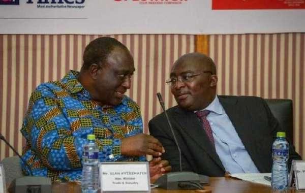 Dr Mahamudu Bawumia And Allan Kyeremanteng